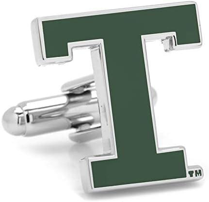 テュレーン大学 テュレーン グリーンウェイブ カフスボタン pd-tul2-sl