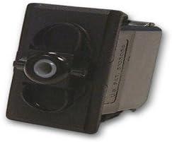 -Off- 12V//20A Rocker Switch Carling Technologies Unlit,SPDT Momentary On On