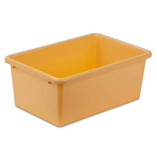 Honey Can Do PRT SRT1602 SMYLW Plastic Storage Yellow