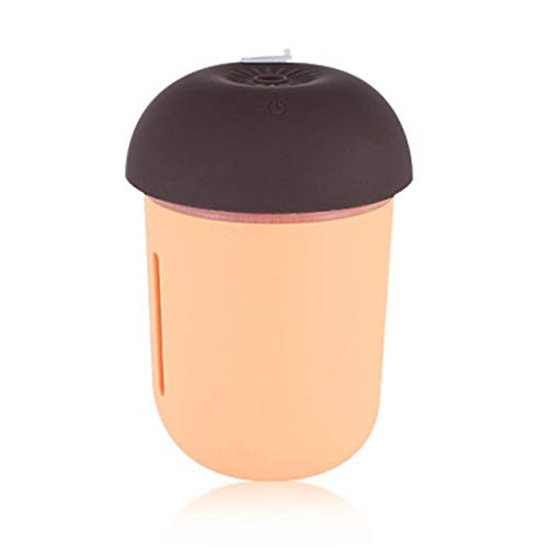 Creative Mushroom Lamp Led Humidifier Home Air Diffuser Purifier Atomizer Essential Oil Diffuser Portable Mist Maker Humidifiers Small Air Conditioning Appliances