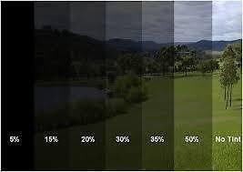 Window Tint Film >> Amazon Com Window Tint Film 3ft X 5ft 15 Sq Ft Tinting Shade 20