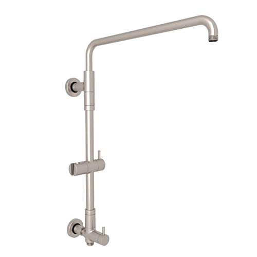 ROHL L0095STN RISER WITH DIVERTER Satin Nickel