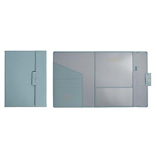 Professional Portfolio Briefcase File Folder File Organizer with Flap-Top Snap Closure, Premium Quality File Envelope Folder, A4 Documents Holder, Padfolio 12.79