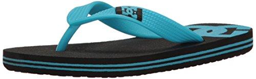 (DC Shoes Boys Shoes Spray - Sandals - Boys - US 6 - Black Black/Blue US 6 / UK 5 / EU 37)