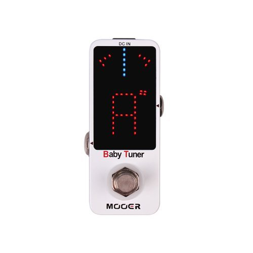 100% Original Mooer Newest Item Baby Tuner Tuner Pedal 108 High Brightness LED and Is Visible Even in Strong Light and Sun