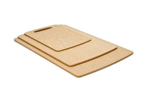 Prep Series Cutting Boards by Epicurean, 3 Piece, Natural (021-3PACK01) by Epicurean