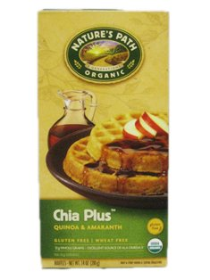 Natures Path: Organic Chia Plus Waffle (1 X 7.4 Oz)