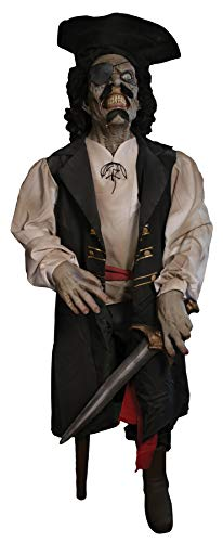 Walk The Plank Frank Pirate Animated Haunted House Halloween Horror Prop