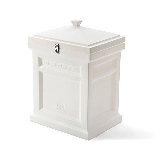 Step2 Deluxe Package Delivery Box, Estate White by Step2