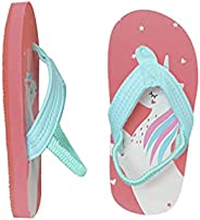 Ceruwum Toddler Girls Beach Pool Flip Flops Sandals Water Shoes