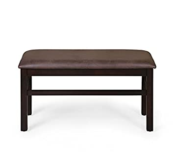@home by Nilkamal Waves Dining Bench (Erin Brown)