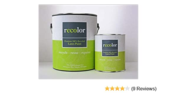 Recolor Paint 100 Recycled Exterior Latex Paint 1 Quart Exterior Stone Amazon Com