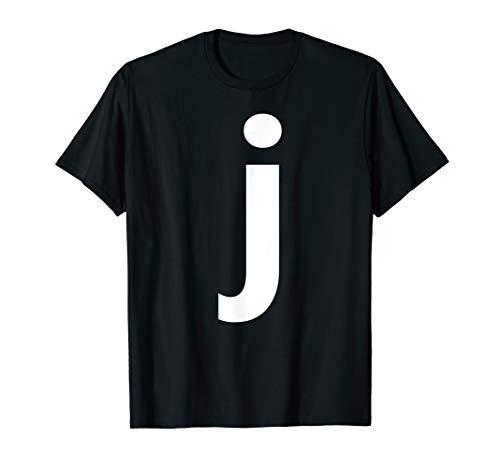 Alphabet Letter J (small lower case) Tee Shirt]()