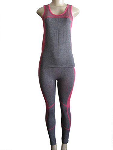 Womens 2 Piece Legging Matching Set Outfits Sports Wear