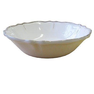 Le Cadeaux Rustica Antique White - Melamine Cereal Bowls - Set of 8 by Le Cadeaux