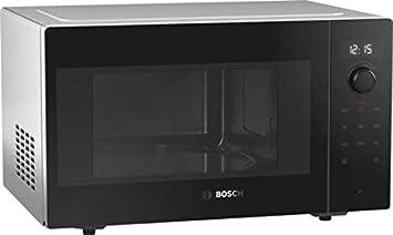 Bosch Serie 6 FFM553MB0 Encimera Solo - Microondas (Encimera, Solo microondas, 25 L, 900 W, Giratorio, Tocar, Negro, Acero inoxidable)
