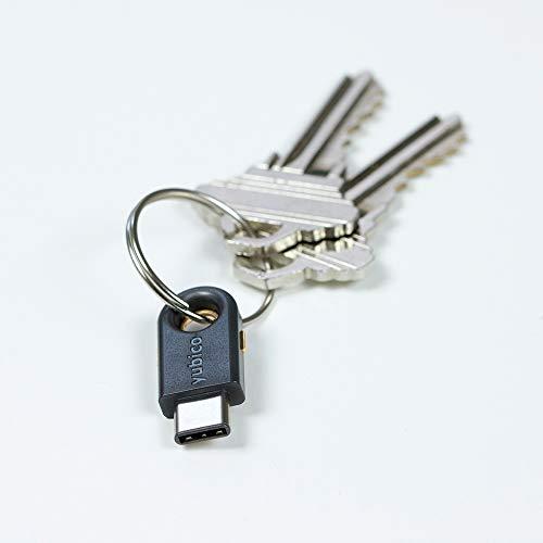 Yubico - YubiKey 5C - USB-C - Two Factor Authentication Security Key by Yubico (Image #1)