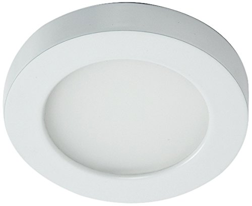 WAC Lighting HR-LED90-27-WT Contemporary Edge Lit LED HR-LED90 Button ()