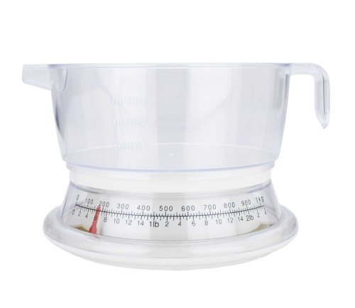 MIU France Plastic Analog Kitchen Scale, 2-Pounds by MIU - 2 Miu Miu