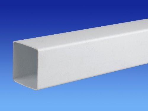 Fallrohr eckig  Wavin OSMA 4T884 weiß 61 mm Meter Fallrohr quadratisch 4 Lieferung ...