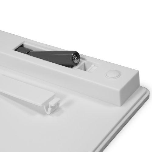Panasonic Toughpad 4K Keyboard, BoxWave [Desktop Type Runner Keyboard] Portable, Lightweight Bluetooth Keyboard for Panasonic Toughpad 4K - Jet Black by BoxWave (Image #2)
