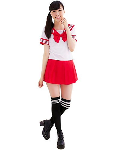 Japanese School Girl Costume - 6