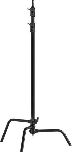 Kupo Master 40-Inch C Stand with Sliding Legs - Black, KS702711 by Kupo