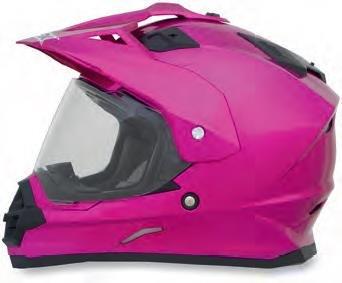 AFX FX-39 Unisex-Adult Full-Face-Helmet-Style Dual Sport Helmet (Fuchsia, X-Small)