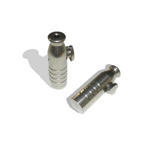 Stainless Steel Snuff Bullet Flanged and Grooved - Stainless Flanged