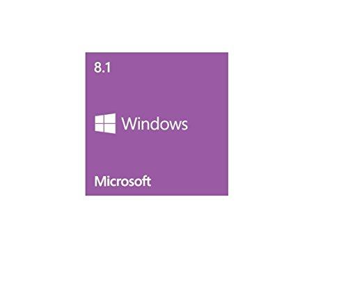 Microsoft Windows 8.1 64-bit - License and Media - OEM x DVD-ROM - PC - English - WN7-00615 by Generic