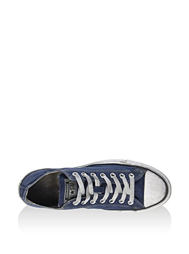 ALL STAR OX CANVAS NAVY SMOKE IN (41)