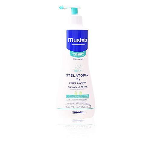 Mustela Stelatopia – Reinigungscreme (1 x 500 ml)