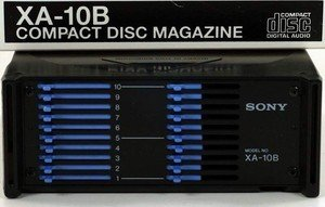 10 Disc Cd Magazine (Sony Xa-10b Cd Compact Disc Magazine Changer Cartridge)