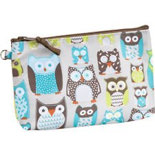 RETIRED - Thirty-One Thermal Mini Zipper Pouch - Life's a Hoot (Owls)