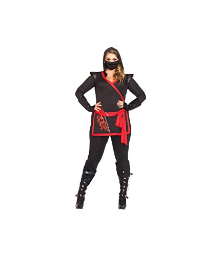 Leg Avenue Ninja Plus Size Stealth Dragon Women Costume - (Leg Avenue Dragon Costume)
