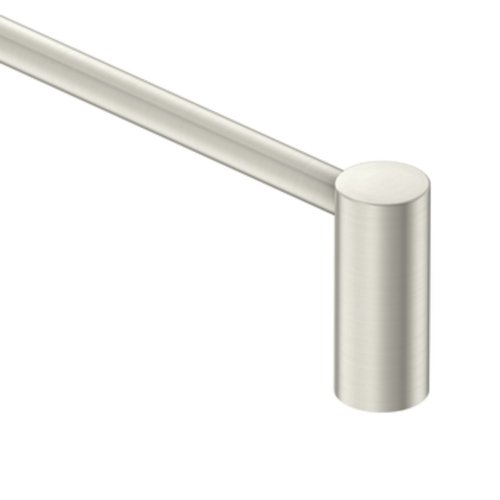 bathroom towel bar brushed nickel - 3