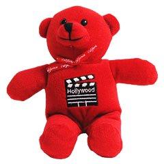 Red Hollywood Teddy Bear (Hollywood Teddy)