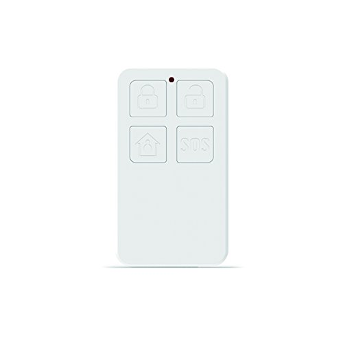 Larmtek Remote Controller for Smart Alarm System, DIY Home&Business Security system, RC01, White