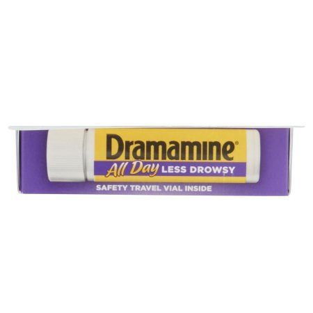 Pack of 10 - Dramamine Less Drowsy Formula Motion Sickness Relief Tablets - 8 CT by Dramamine (Image #6)