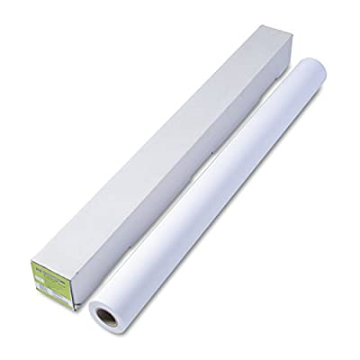 """HP - Coated Paper, 32lb., 42""""x100', Matte, White, Sold as 1 Roll, HEW Q1414A"""