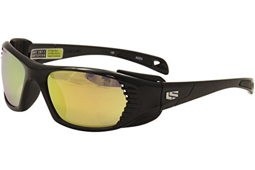 Liberty Sport Persuit 203 Shiny Black Sport Wrap Sunglasses 57mm - Liberty Sport Glasses