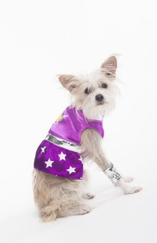Fashion Pet Halloween Superdog Girl Costume for Dogs, X-Small ()