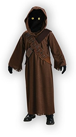 - 31AwRrzm1bL - Evolution's Jawa Costume with Light Up Eyes Small