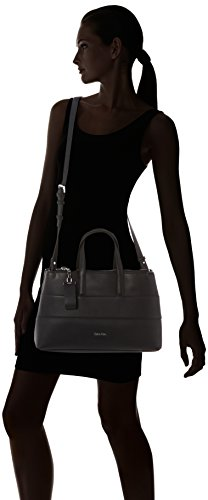 Calvin Klein Damen LUC7  MEDIUM TOTE Tote Schwarz (BLACK )