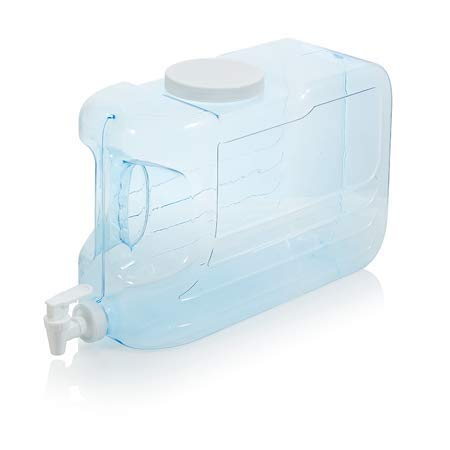 - Arrow H2O 2.5-Gal Slimline Beverage Dispenser, Blue