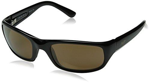 Maui Jim Stingray Sunglasses,Gloss Black Frame/HCL Bronze Lens,one size