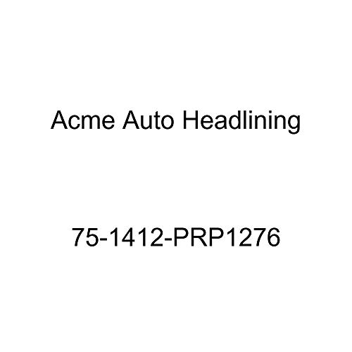 Acme Auto Headlining 75-1412-PRP1276 Dark Green Replacement Headliner (1975 Chevy Caprice and Impala Custom 2 Dr Hardtop w/Qtr Window (5 Bow))