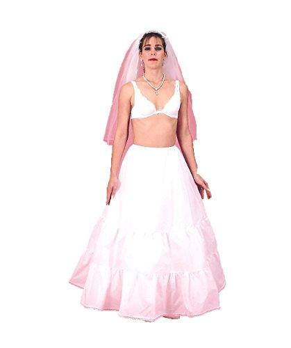 New Medium Full Drawstring Bridal Petticoat Wedding Gown Slip (CH103DSXF)