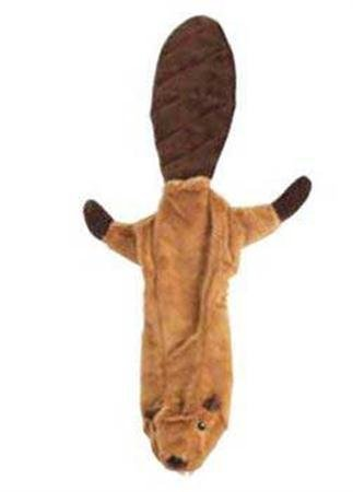 (Spot Ethical Mini Skinneeez Beaver 14in Dog Toy)