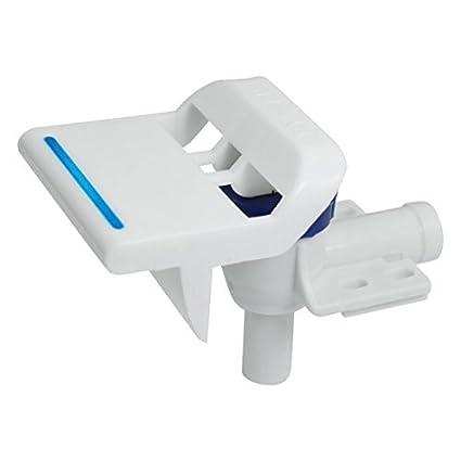 DealMux plástico Início dispensador de água torneira Toque com 17/32 Dia Inlet, Branco